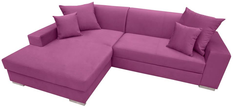 Nowoczesne narożniki rozkładane w kolorze fiolet mexico new ks