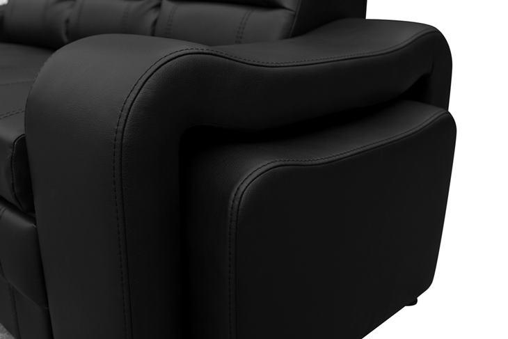 Sofa do salonu Wenis detal ujęcie trzecie