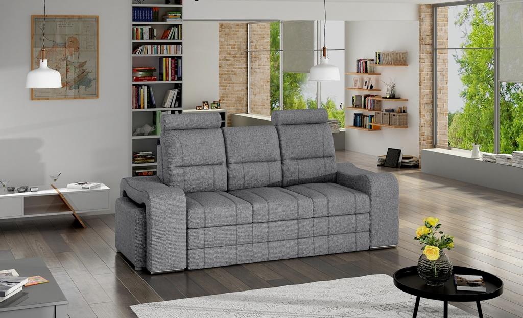 Sofa trzyosobowa z pojemnikiem Wines w tkaninie INARI 91