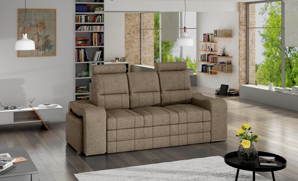 Sofa rozkładana do przodu Wines w tkaninie INARI 23