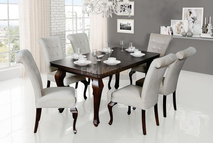 Komplet Refined Style Ludwik K Krzesła Stb56k Flori Meble