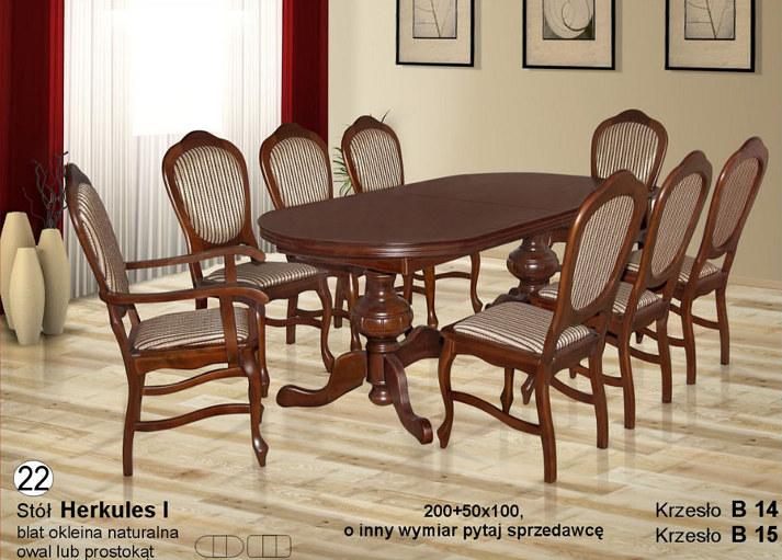 Komplet z krzesłami B14