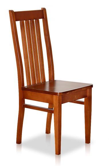 Krzesło kuchenne o drewnianym siedziski B26N