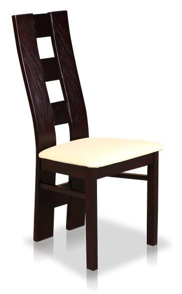 Nowoczesne krzesło drewniane B35