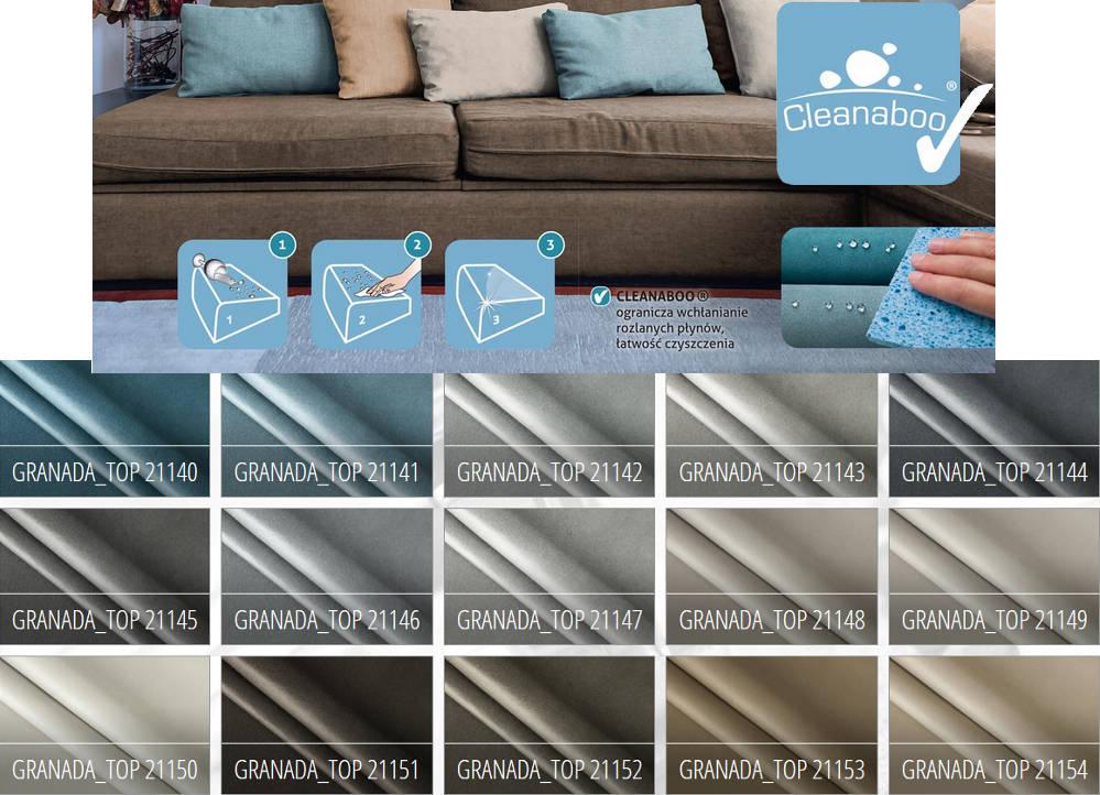 Tkanina gładka - łatwe czyszczenie Granada TOP