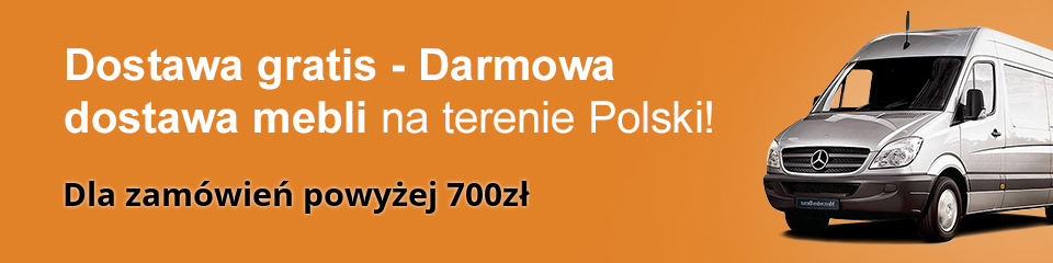 Darmowa dostawa mebli na terenie Polski - FloriMeble - Promocja ważna do odwołania